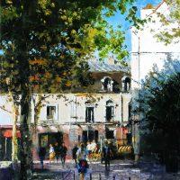 Les petites places de Montmartre