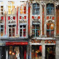Les vitrines de la rue de la Bourse