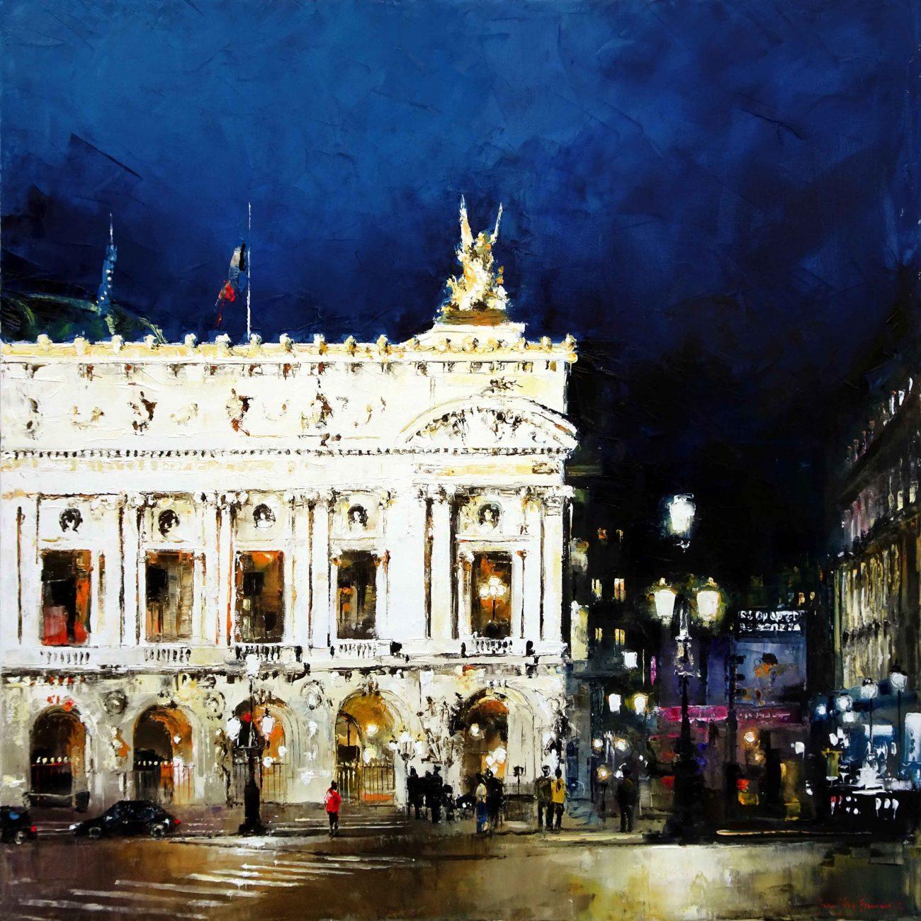 Paris, les nuits au Palais Garnier 90x90