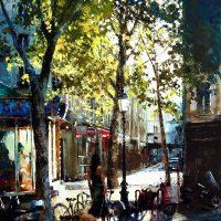 A Montmartre au petit matin 92×65 cms